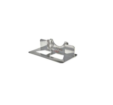 "Recessed Heel w/Cutouts Extruded Aluminum 14""x7-1/2"""